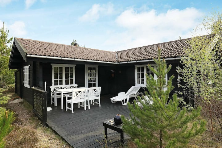 Quaint Holiday Home in Albaek Denmark with Terrace