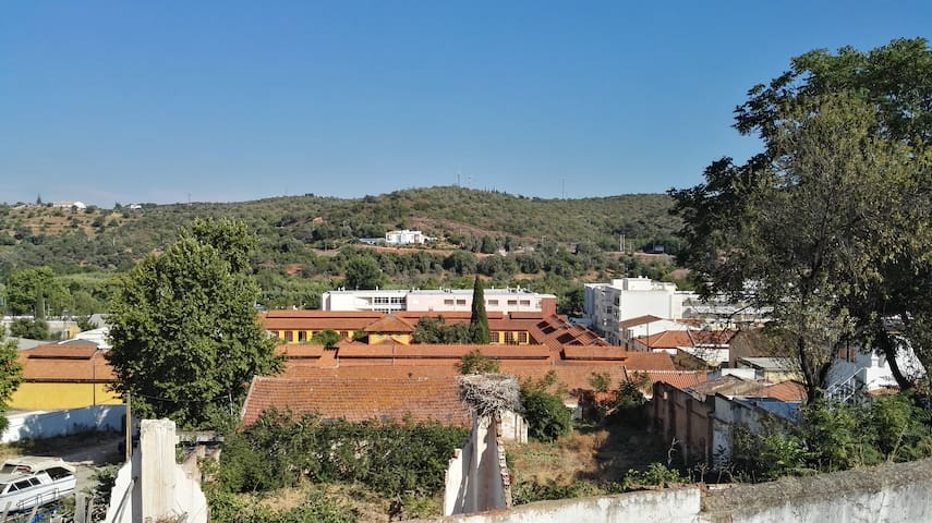 Typical house of Silves