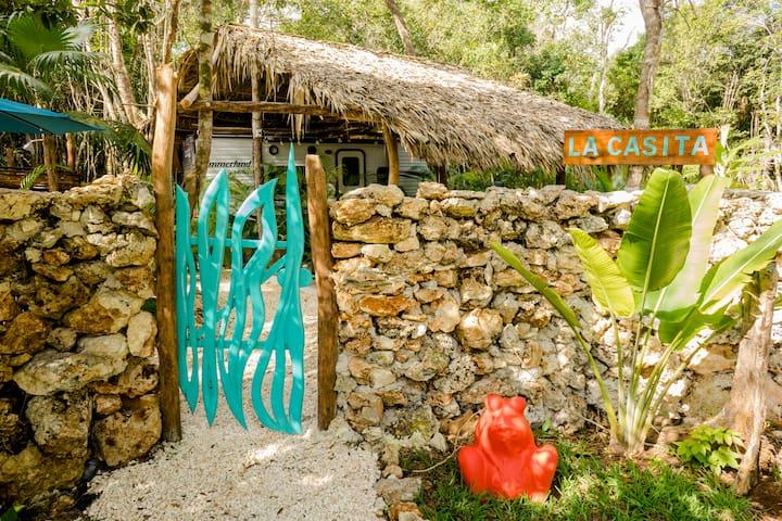 La Casita del Cenote Elvira.