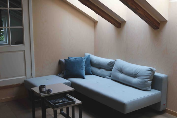 Amazing loft-apartment in quiet neigbourhood
