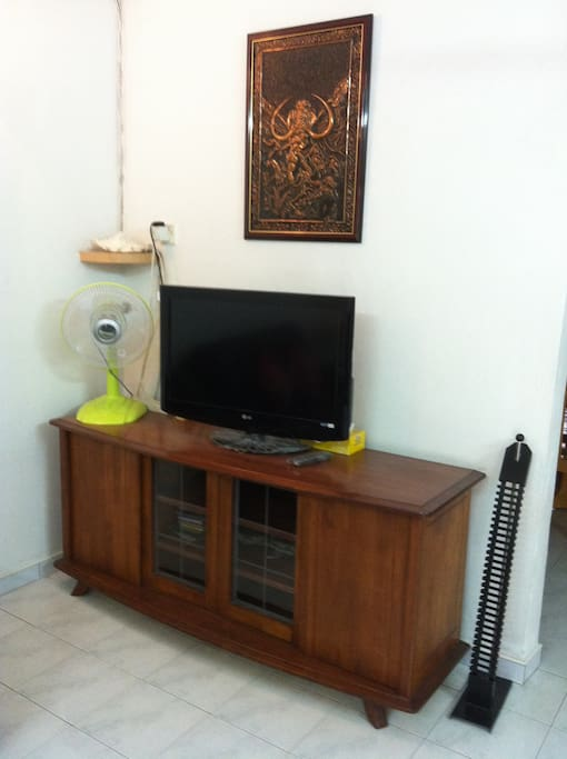 TV at living hall