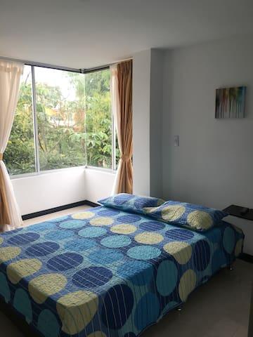 Apartamento de descanso con vista a la naturaleza.