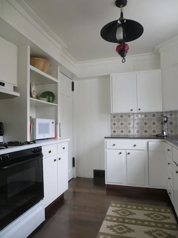 Comfortable kitchen with all you need for your stay