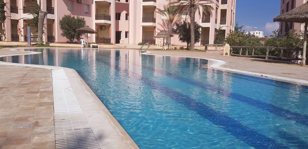 Charmant T3 avec piscine - Lella Meriam Zarzis