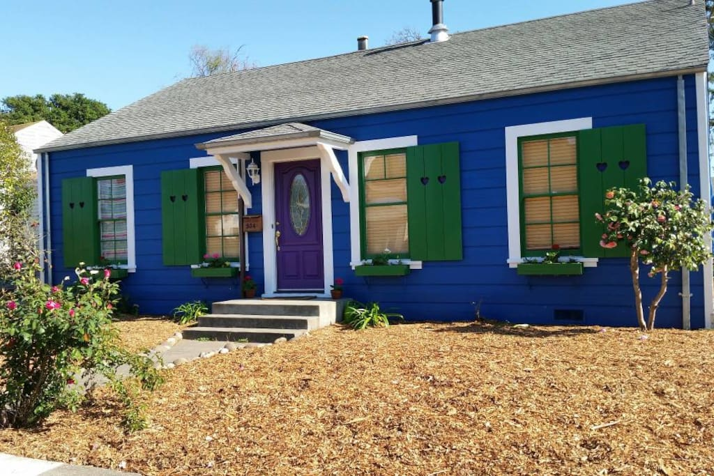 Urban Homestead Pet Friendly Close To Downtown Houses For Rent In Santa Rosa California