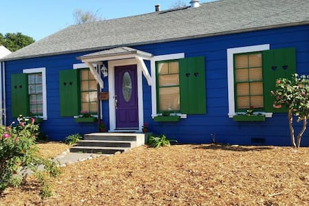 Urban homestead - pet friendly & close to downtown - Santa Rosa - Casa