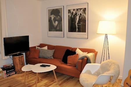 Nybygget og stilfuld etværelses midt i centrum - Aarhus