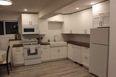 Beautiful & BRAND NEW Basement Suite