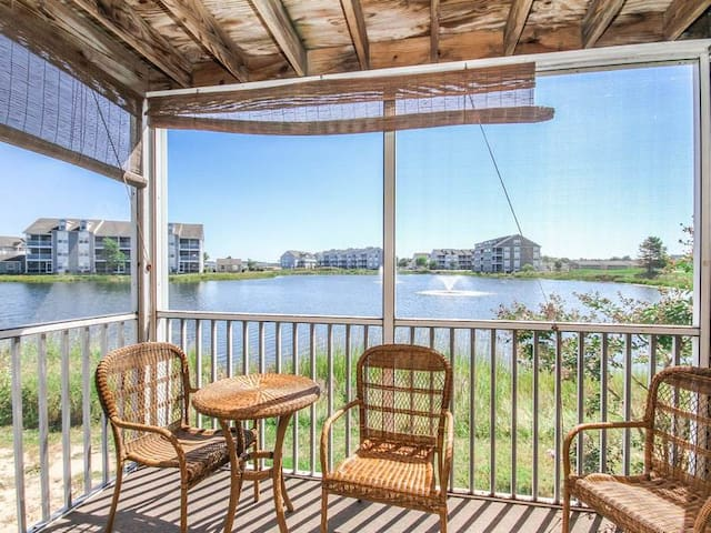 BB241: MINI-WEEKS! - Water Views from this 2BR Bethany Bay Condo - Pool, Golf...