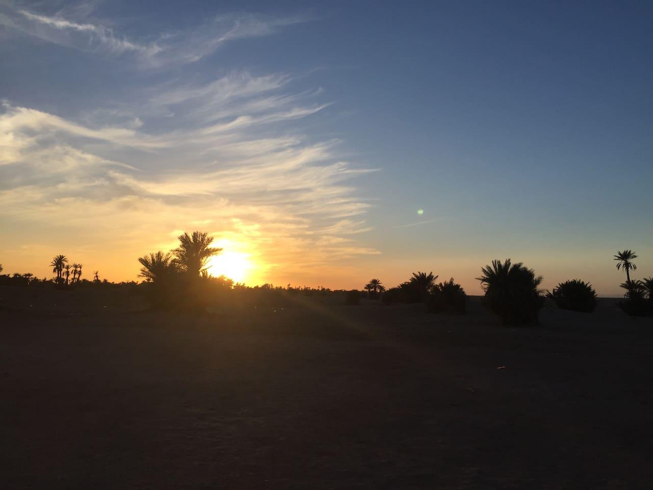 Sunset Mhamid