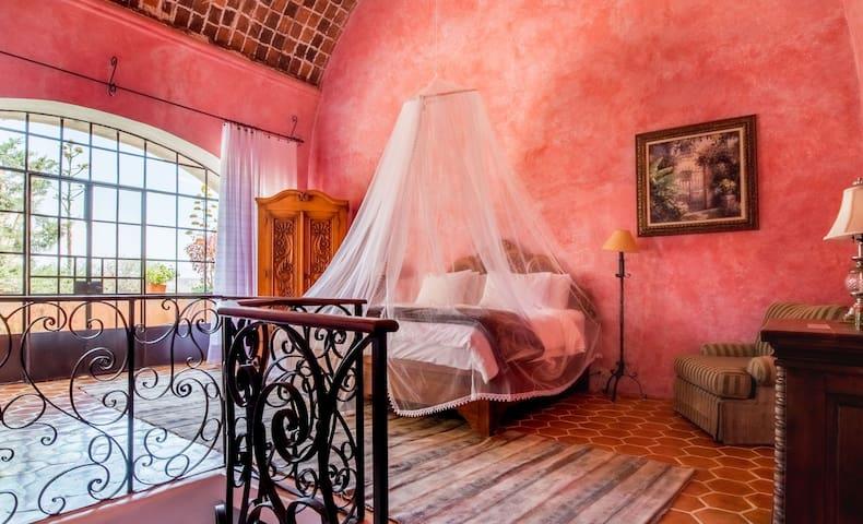Hotel Hacienda de Trancas - Habitación Rosa