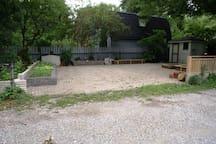 Free backyard parking