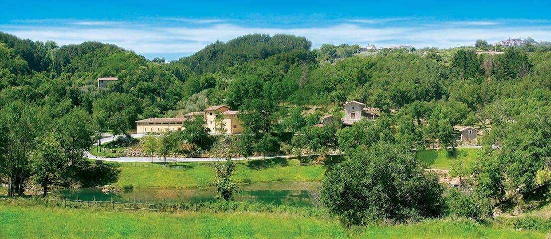 Appartamento in residence con piscina/sport/parco - Castel del piano - Lägenhet