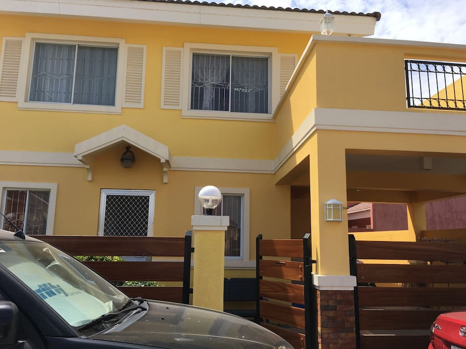 A 5 bedroom house in a fully secured  subdivision. All hi standard amenities included.