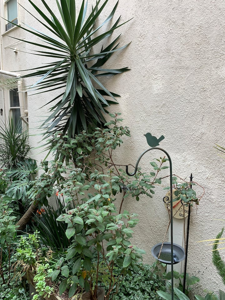 Charming one bedroom with garden and deck