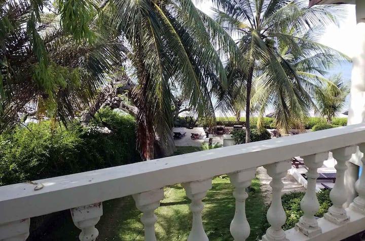 Chambre Double Classic #4 – Terrasse et vue océan