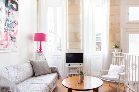 Characterful Duplex on Place des Chartrons in Bordeaux