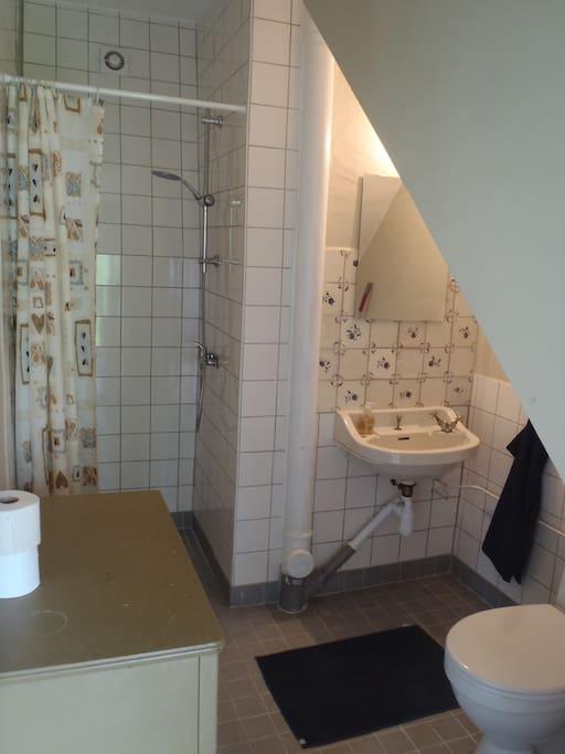 Bathroom at 1st floor.