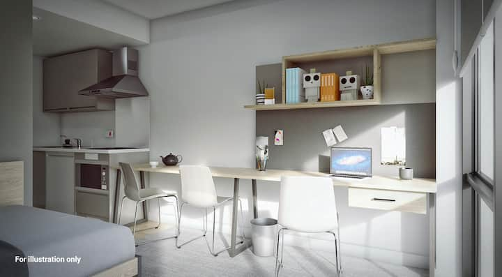 Student Only Property: Superior  Premium Accessible Studio