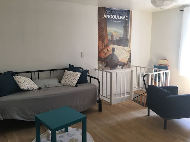 Appartement indépendant en centre ville.