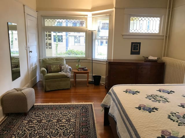 Bright Victorian One Bedroom - Heart of Downtown