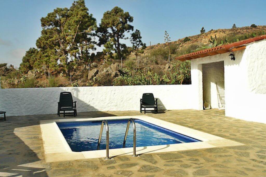 Casa Juani piscina