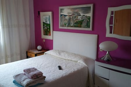 Habitación doble con baño en suite en San Ciprian - San Ciprian - 公寓