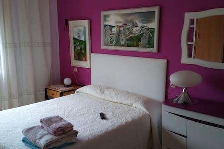 Habitación doble con baño en suite en San Ciprian - San Ciprian
