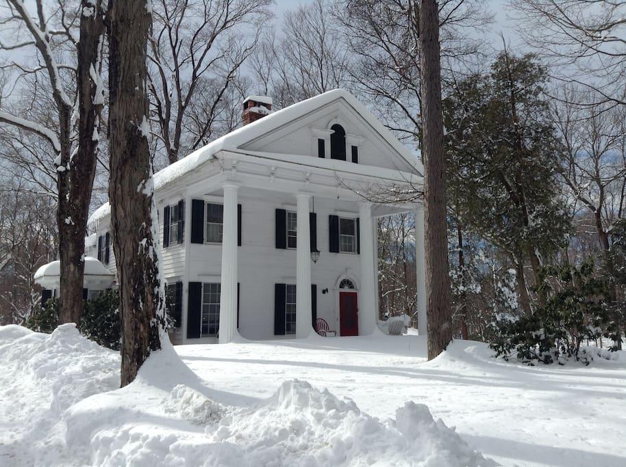 Main House - Winter