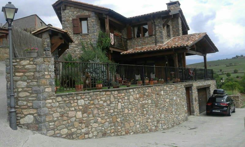 Casa rústica impresionantes vistas - montellà i martinet,lleida - Haus