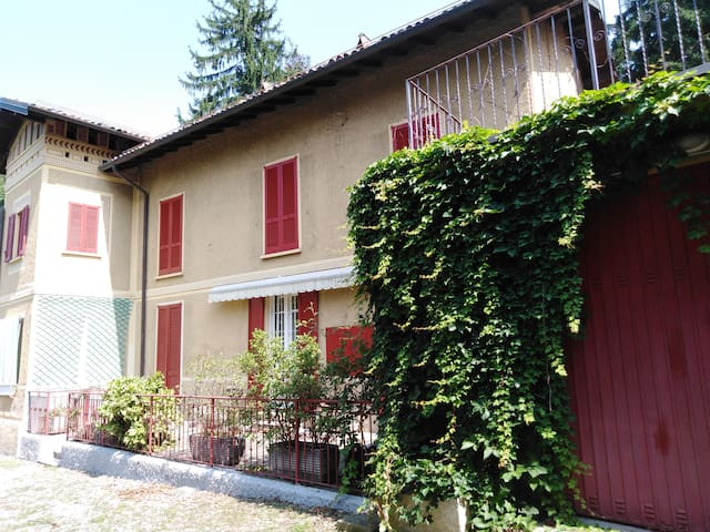 Apartment in villa with park - Lake of Varese