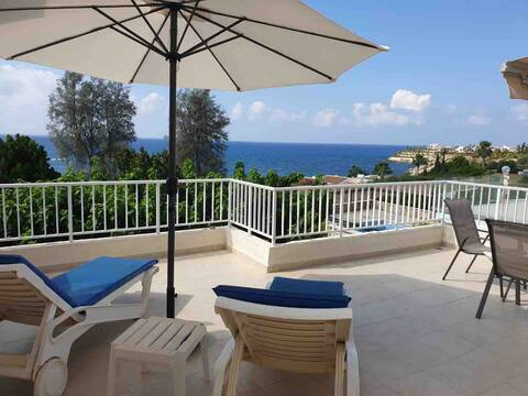 Panorama Sea View apartment . Great location.