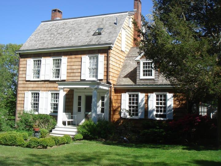 Beachfront Historic Artists Home