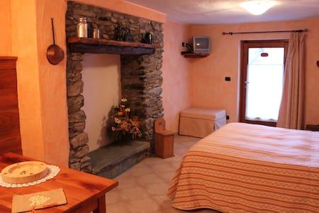 Tipica abitazione di montagna, sport o relax - Brusson - Chalet