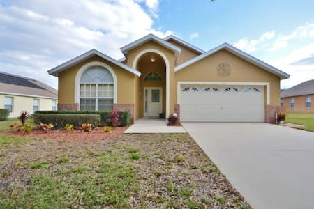 Fantastic 5 Bedroom 4 Bathroom Pool Home With Spa 3154SHC - clermont  - 別荘