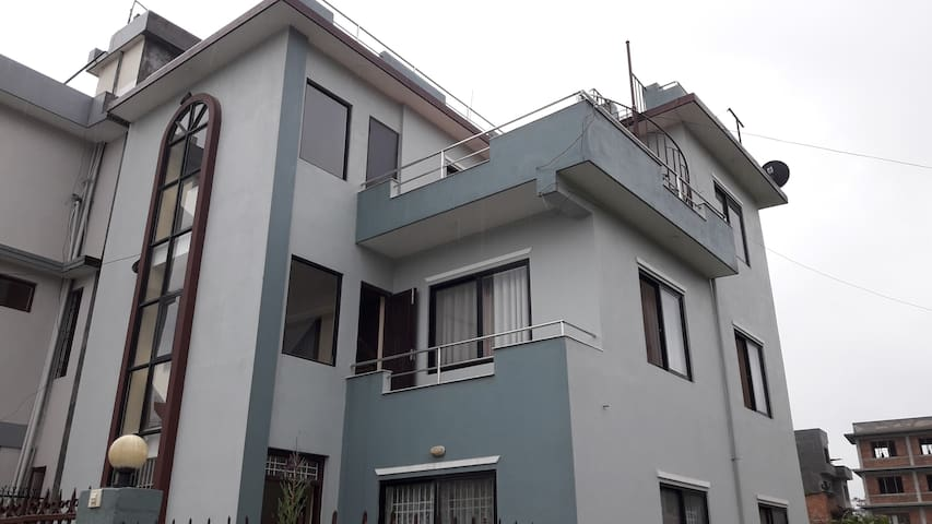 Karyabinayak Home with a View of Chobar Hill