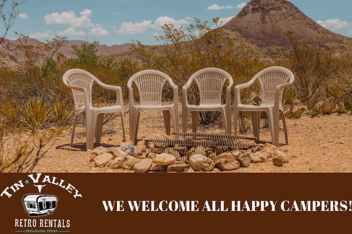 Tent Camping Site #10 - Tin Valley Retro Rentals