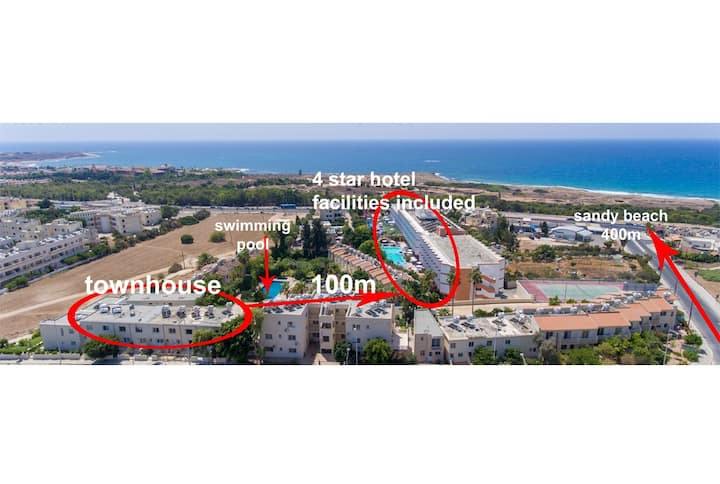 4* Hotel Luxurious Seaview Townhouse
