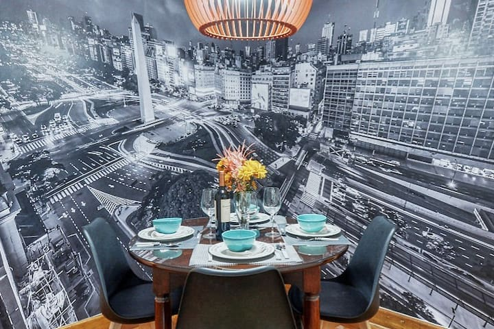 Fancy apartment at the heart of BA City