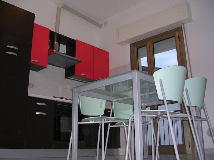 Appartamento Rimini mare, posto auto, bici, wifi.