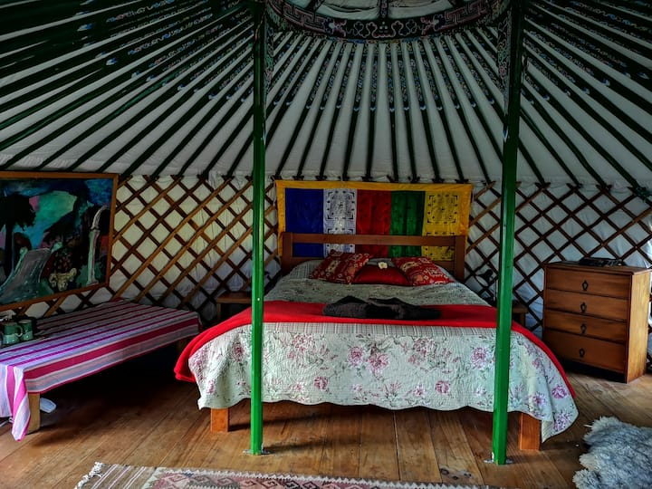 Yurt - very peaceful, for adventurous guests