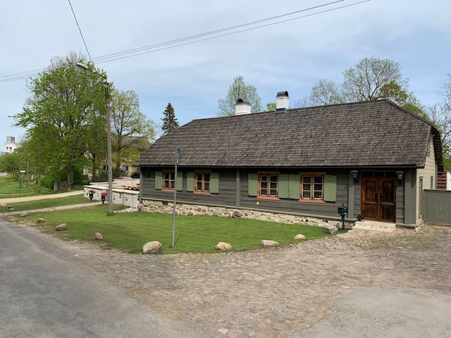 One of the oldest wooden house in Rakvere