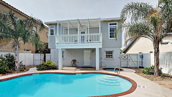 Family-Friendly South Padre House