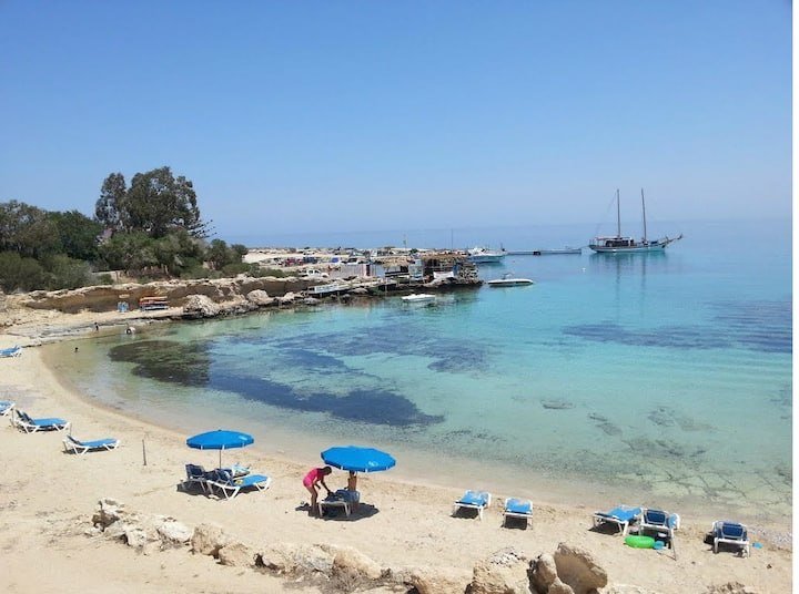 Cyprus Protaras Beach House  - Green Bay Beach