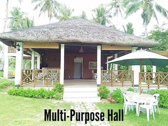 Multi-purpose Hall accommodates up to 50-60 persons.