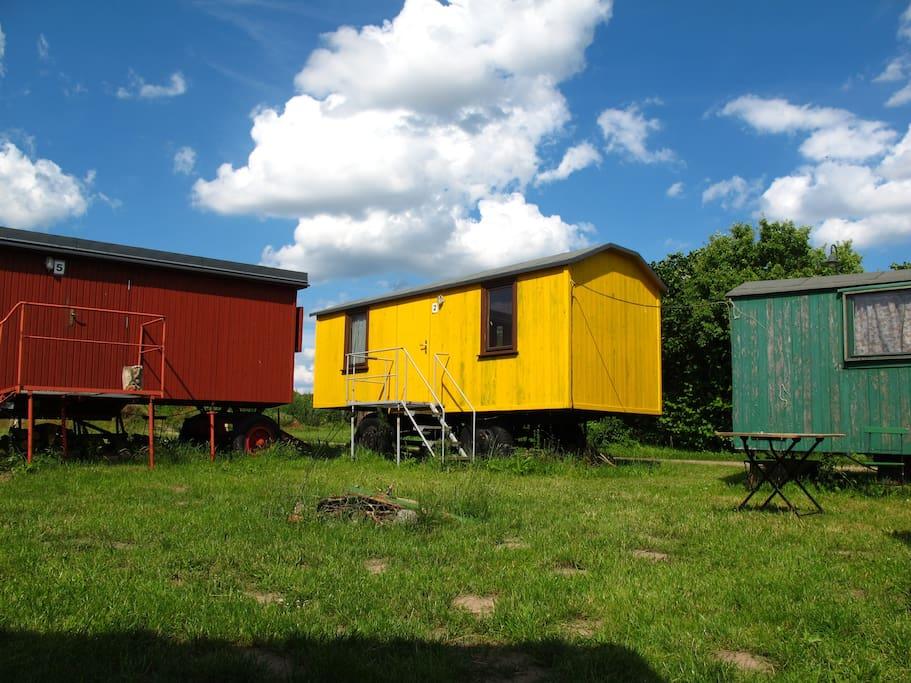 Die Wohnwagen 5, 2 und 1
