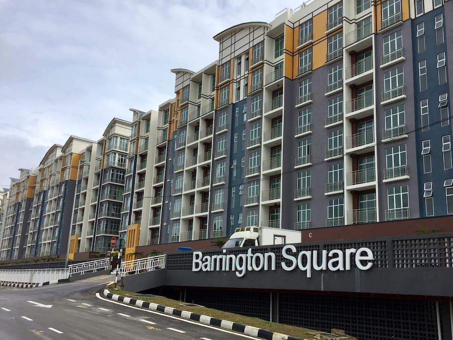 The PENT is the yellow colored ones @ Barrington Square.