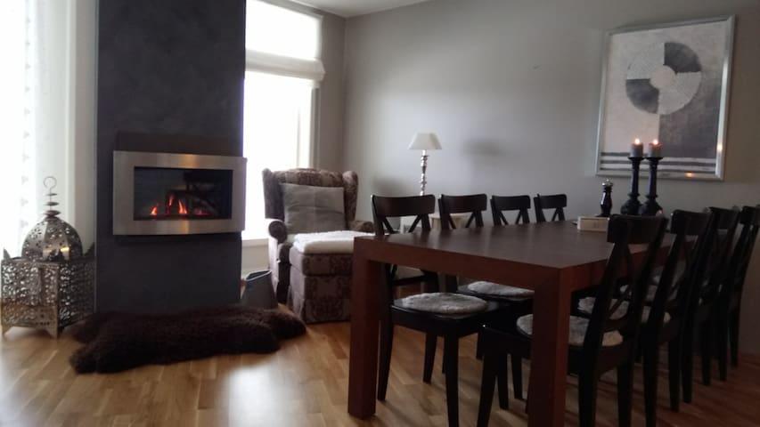 Stor koselig leilighet på Kvitfjell