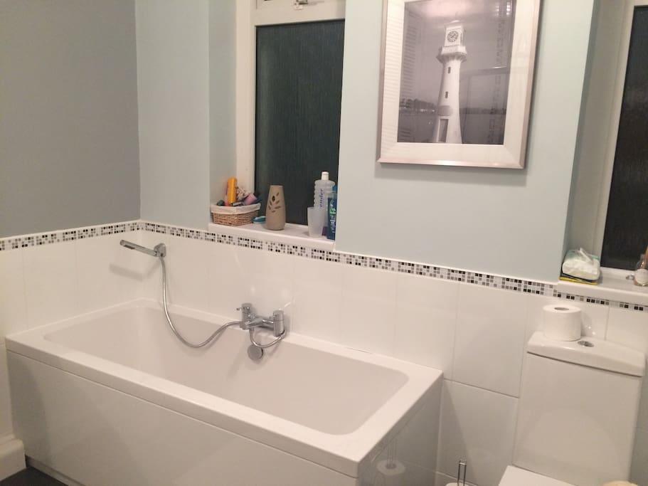 Bathroom - bath, toilet
