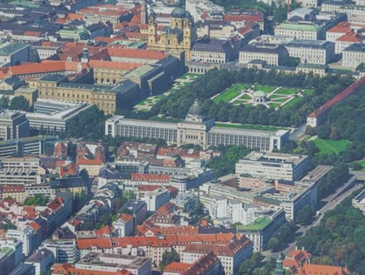Central place in Munich